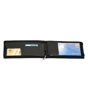 Eco Woods Leathers Cheque Book Holder with Zipper (PI-643) (Pack of 10 pcs)