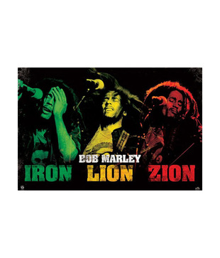 Bob Marley (Iron Lion Zion) - Maxi Posters