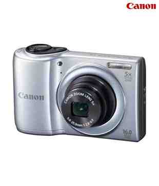 Canon PowerShot A810 16MP Point & Shoot Digital Camera (Silver)