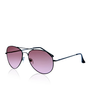 Just Colours Cool Pink Aviator Sunglasses