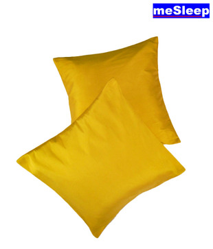 MeSleep Yellow Cushion Covers
