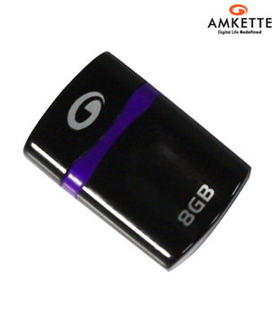Amkette Play Tuff 8 GB Pen Drive (Black)