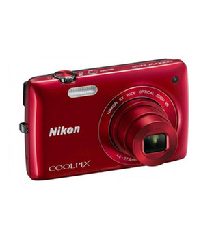 Nikon Coolpix S4300 16.0MP Point & Shoot(Red)