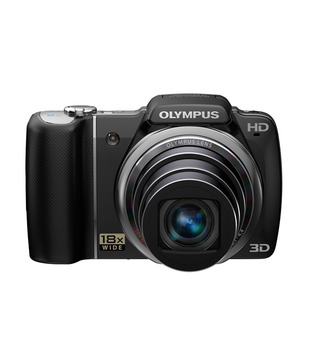Olympus SZ-14 14MP Point & Shoot Digital Camera (Black)