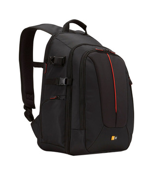Case Logic DCB-309 SLR Camera Laptop Backpack Carry Bag Case - Black Nylon