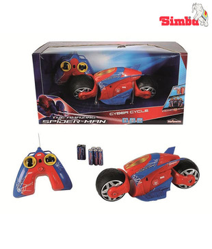 Majorette Rc Spiderman Cyber Cycle