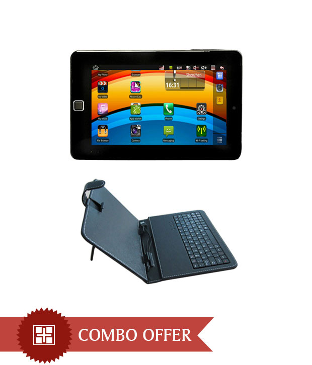 FujeZone Smart Tablet 2G Calling With Keyboard