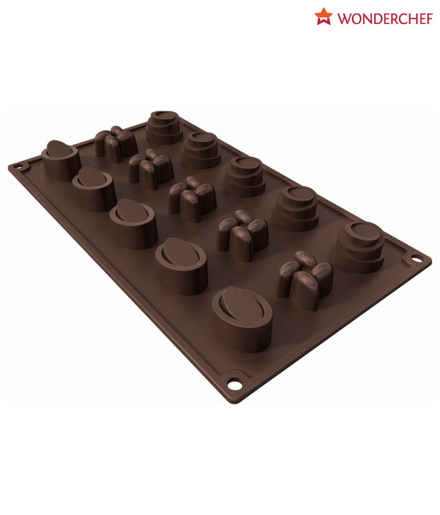 Wonderchef Copper Finish Choco Mould-30cm dia