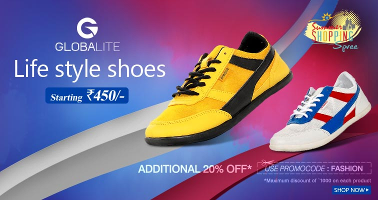 Get 20 % off on  Lee Cooper Outdoor Shoes Footware @ flipkart.com