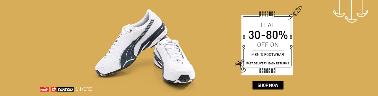 c34c53247df Get 30-80% off on Men s Sports Shoes   Snapdeal – Fashion   Apparels