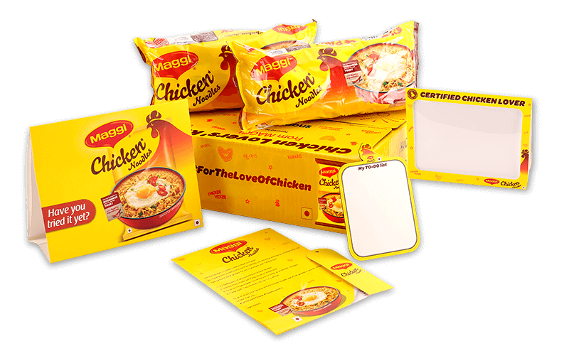 Maggi chicken Lovers KIT with Exciting Freebies @ Snapdeal – Rs.120 – Others