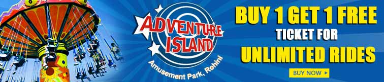 Verified on 26/11/ Adventure Island Special Deals: Book and get flat 20% off on tickets online for Adventure Island. This offer is available on both online and offline ticket bookings. No coupon codes required to get this discount offer. Hurry up and make avail of this exclusive deals.