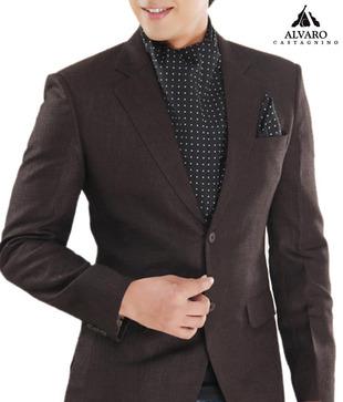 Alvaro Black Polka Scarf   Handkerchief Combo