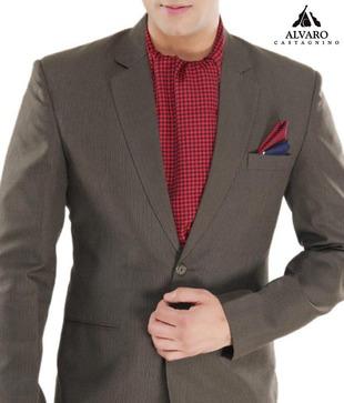 Alvaro Navy Red Scarf   Handkerchief Combo
