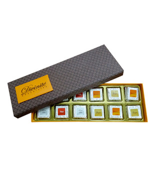 Spice Range -Orange Box (12 pcs of chocolates)
