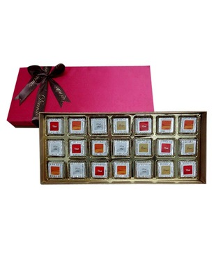 Spice Range -Festive Pink Silk (21 pcs of chocolates)