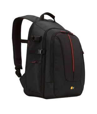 Case Logic DCB-309 SLR Camera Laptop Backpack Carry Bag Case - Black Nylon