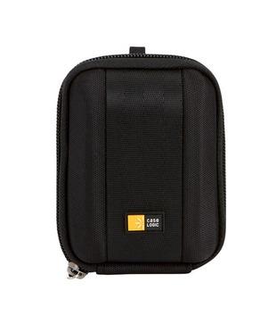 Case Logic QPB-201 Compact Digital Camera Carry Bag Case - Black EVA