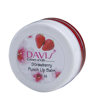 Davis Strawberry Punch Lipbalm 8 Gm