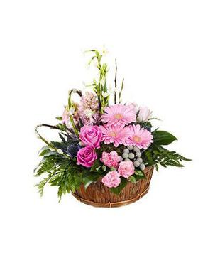 18 Pink Roses Arrangment