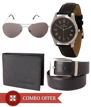 Provogue Sunglasses, Belt, Wallet   Watch Gift Set