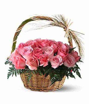 30 Pink Roses Arrangement