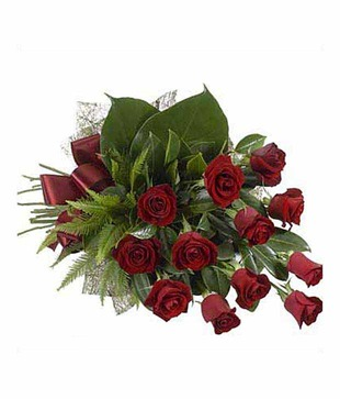 Exclusive Red Roses Bouquet
