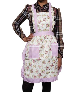 Enfin Homes Pink   Green Apron