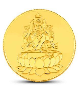 50 gm 24kt purity 995 Fineness Lakshmi Gold Coin By CaratLane