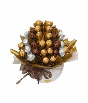 Chocolate Bouquet 1