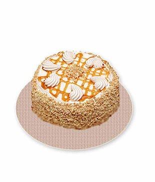 500 Gms Delicious Butterscotch Cake