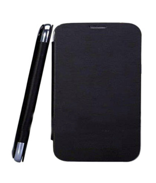 Callmate Flip Case Battery Cover Replaceable For Karbonn A21 - Black Primary image