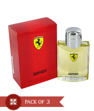 Ferrari Red125ml Each  (Pack of 3)