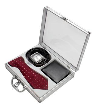 Firenzi Classy Tie, Wallet   Belt Gift Set