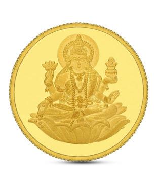 10gms 24kt 999 Purity Gitanjali Laxmi Gold Coin