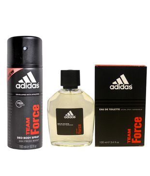 Adidas Team Force Men's Perfume (Edt) Spray 100 ml + Deodorant Spray 150 ml