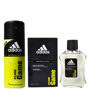 Adidas Pure Game Men's Perfume (Edt) 100 ml + Deodorant Spray 150 ml