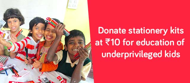 Snapdeal Sunshine: Support To Make Better India - Donate Now!